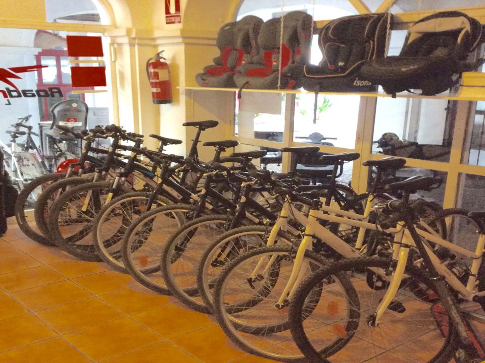 Bicycle Hire Shop Duquesa